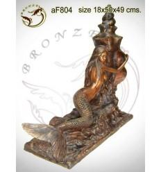Fontaine bassin bronze af804-100