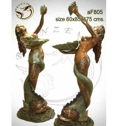 Fontaine bassin bronze af805-100