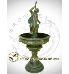 Fontaine vasque en bronze af002-100