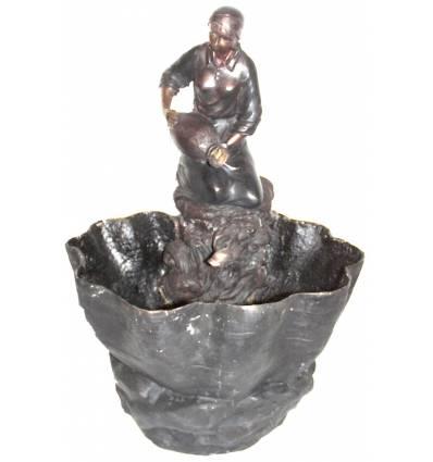 Fontaine vasque en bronze BRZ0004