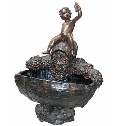 Fontaine vasque en bronze BRZ0117V