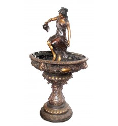 Fontaine vasque en bronze BRZ0399