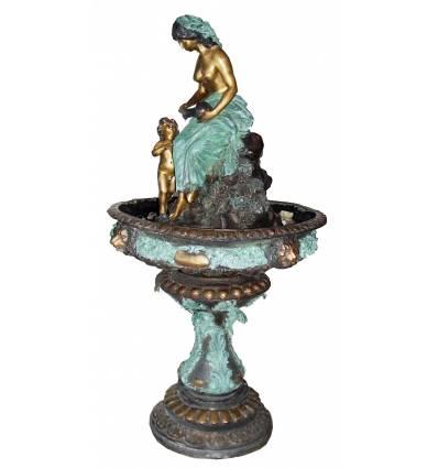 Fontaine vasque en bronze BRZ0411