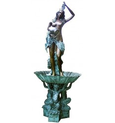 Fontaine vasque en bronze BRZ0467