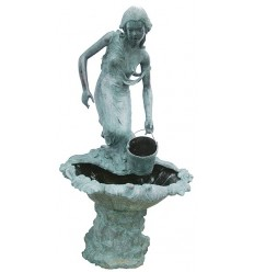 Fontaine vasque en bronze BRZ0469