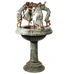 Fontaine vasque en bronze BRZ0492