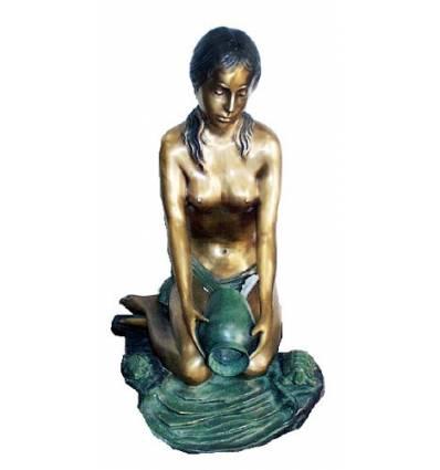 Fontaine vasque en bronze BRZ0505