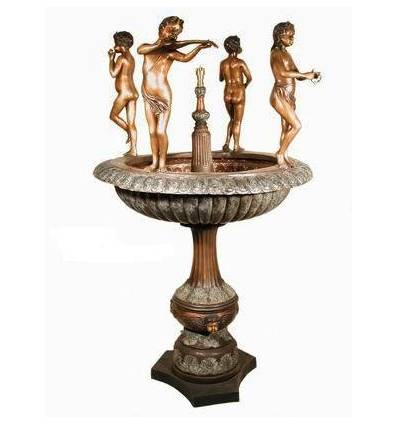 Fontaine vasque en bronze BRZ0645