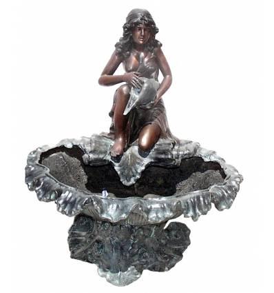 Fontaine vasque en bronze BRZ0774