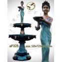 Fontaines en Bronze de jardin à étages af025-100