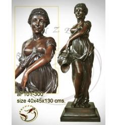 Fontaine bassin bronze af101-300