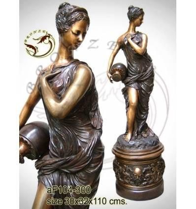 Fontaine bassin bronze af104-300