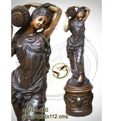 Fontaine bassin bronze af104-400
