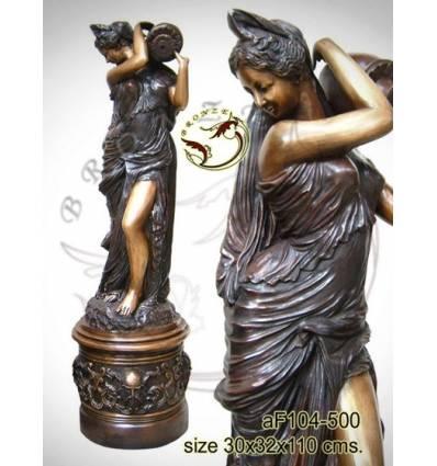Fontaine bassin bronze af104-500