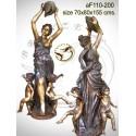 Fontaine bassin bronze af110-200