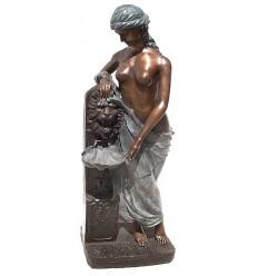 Fontaine bassin bronze BRZ0750