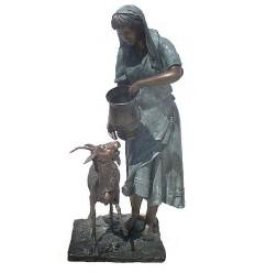 Fontaine bassin bronze BRZ0753