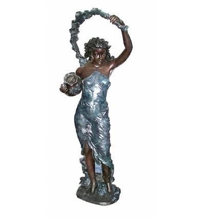 Fontaine bassin bronze BRZ0755