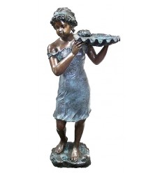 Fontaine bassin bronze BRZ0756
