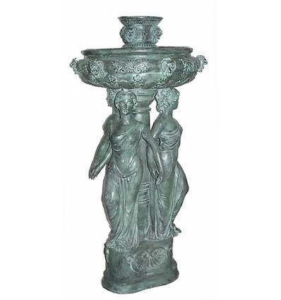 Fontaine bassin bronze BRZ0767V