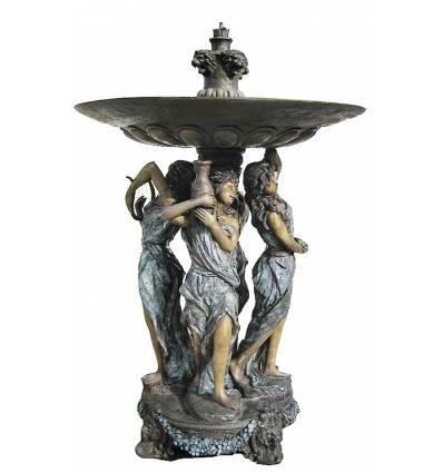 Fontaine bassin bronze BRZ0768