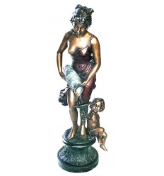 Fontaine bassin bronze BRZ0895