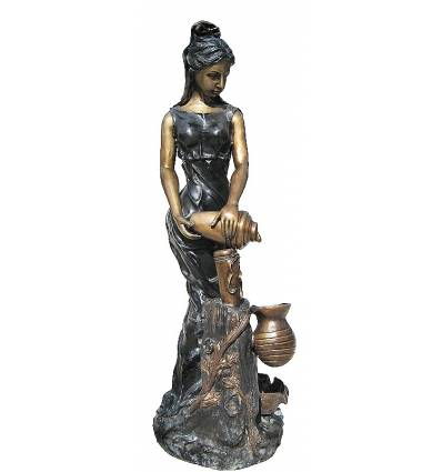 Fontaine bassin bronze BRZ1153-60