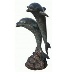 Fontaine d'extérieur en bronze BRZ1090