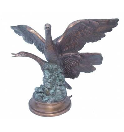 Fontaine d'extérieur en bronze BRZ1094