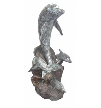 Fontaine d'extérieur en bronze BRZ0560v