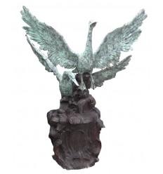 Fontaine d'extérieur en bronze BRZ706v