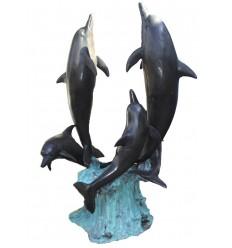 Fontaine d'extérieur en bronze BRZ0913
