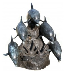 Fontaine d'extérieur en bronze BRZ0919