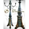 Lampadaire de jardin en bronze ap408-100