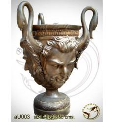 Vasque de jardin en bronze au003-100