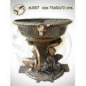 Vasque de jardin en bronze au007-100