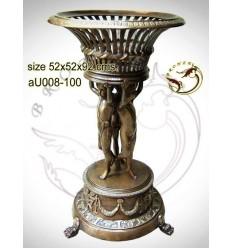 Vasque de jardin en bronze au008-100