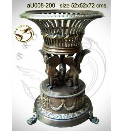 Vasque de jardin en bronze au008-200