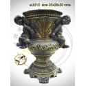 Vasque de jardin en bronze au010-100