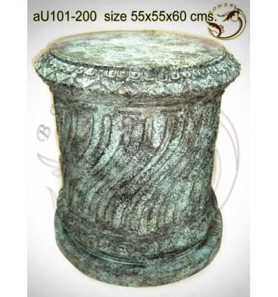 Vasque de jardin en bronze au101-200