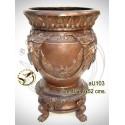 Vasque de jardin en bronze au103-100