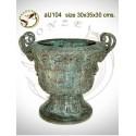 Vasque de jardin en bronze au104-100