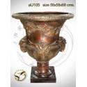 Vasque de jardin en bronze au105-100