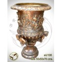 Vasque de jardin en bronze au106-100