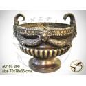 Vasque de jardin en bronze au107-200