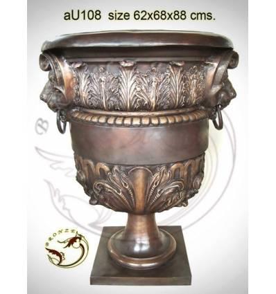 Vasque de jardin en bronze au108-100