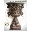 Vasque de jardin en bronze au109-100