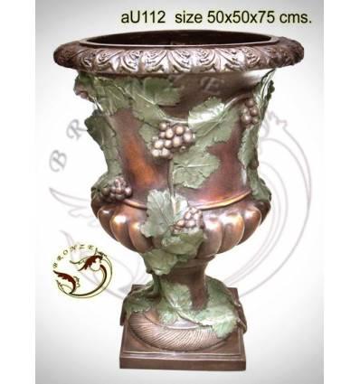 Vasque de jardin en bronze au112-100