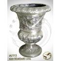 Vasque de jardin en bronze au113-100