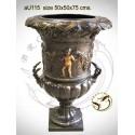 Vasque de jardin en bronze au115-100